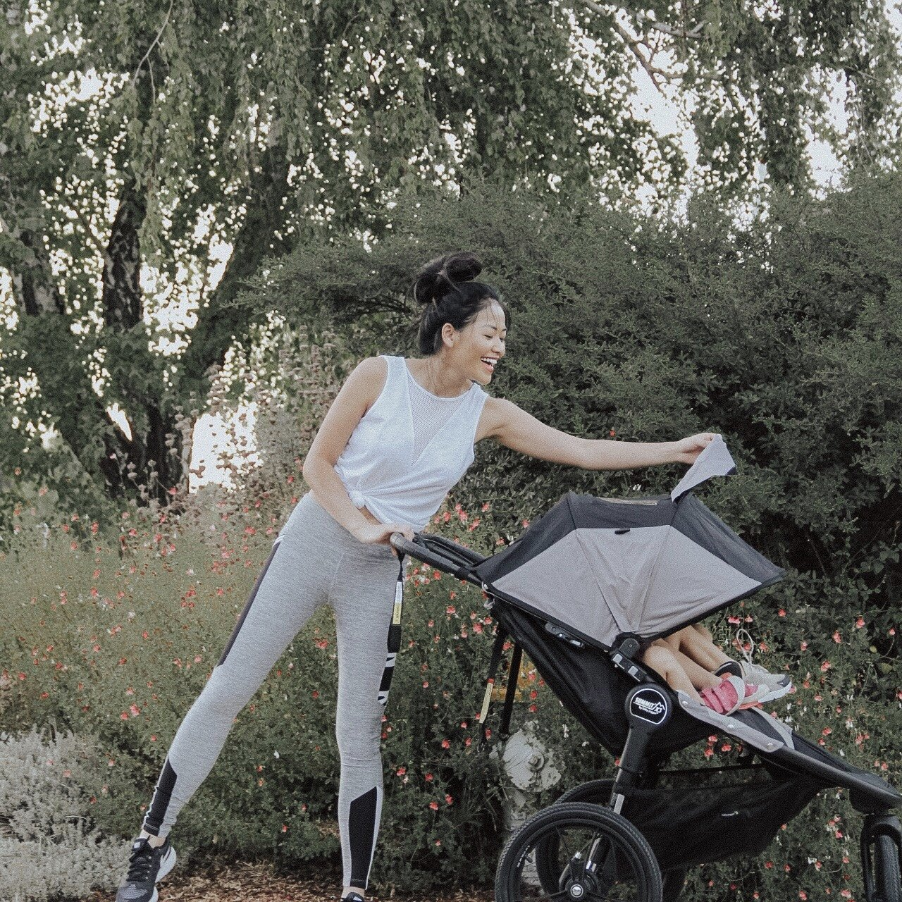 "alt="" baby jogger summit X3 double stroller"""